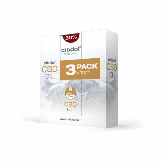 Multipack de aceite de CBD 30%