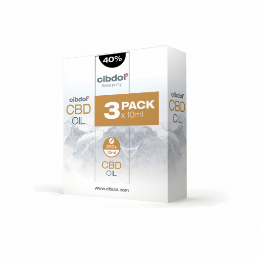 Multipack de aceite de CBD 40%