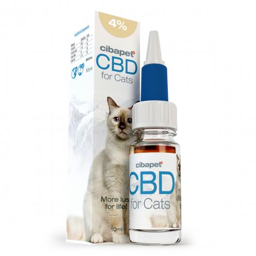 Aceite de CBD 4% para gatos