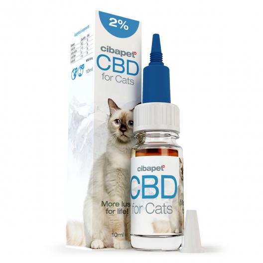 Aceite de CBD 2% para gatos
