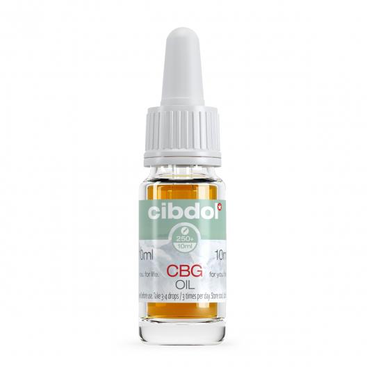 Aceite de CBG 2,5% y CBD 2,5%