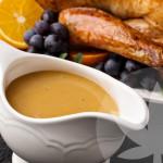 Salsa gravy con CBD para Acción de Gracias